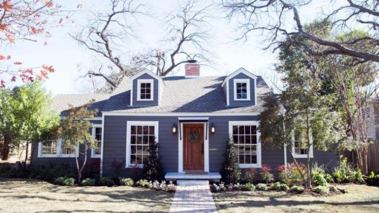 Chip and Joanna Gaines home curb appeal