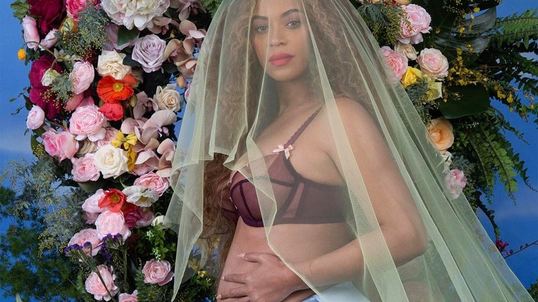 Beyonce pregnancy style announcement