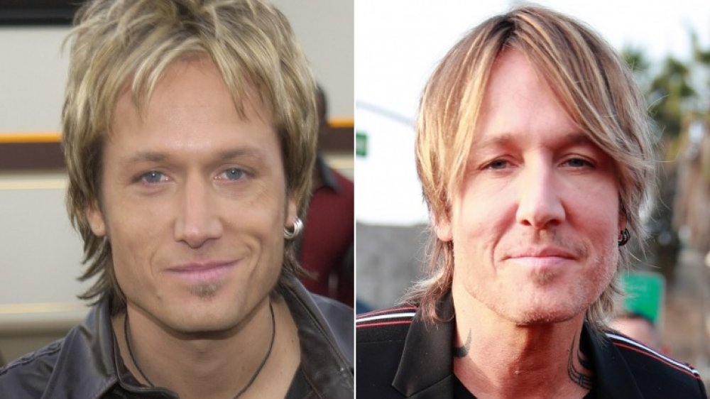 star country Keith Urban then and now