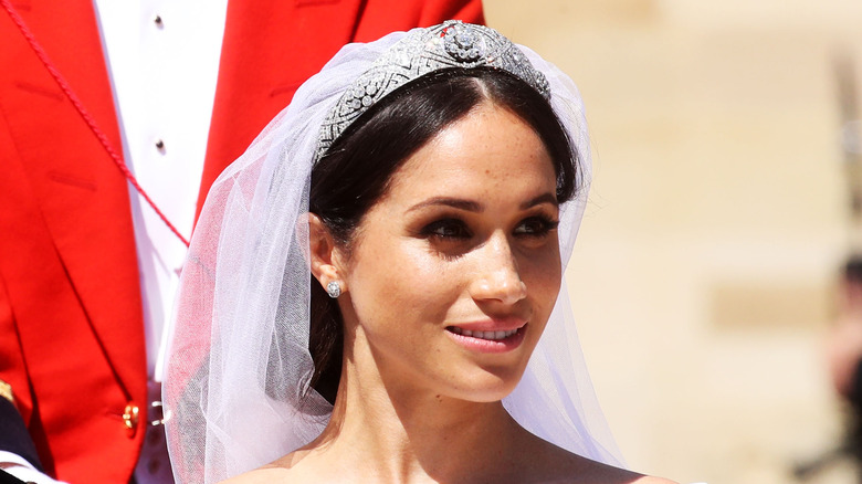 Everything We Know About Meghan Markles Wedding Gown