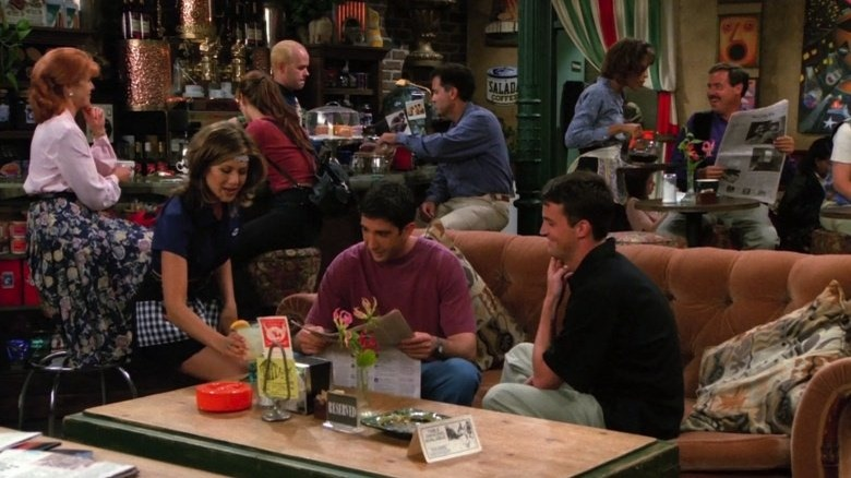 Friends Central Perk table