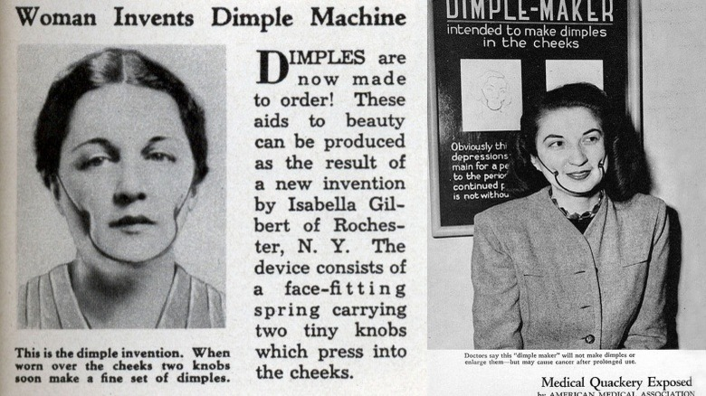 dimple maker beauty product