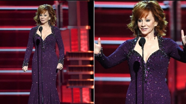 2018 ACM Awards Reba McEntire style