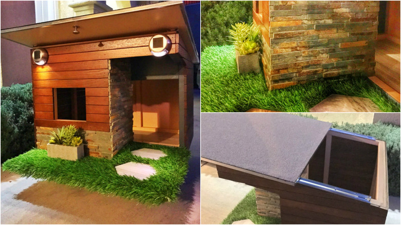 The most extravagant dog houses for Modern dog house designs