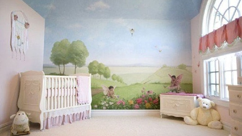 P. Diddy's nursery for his twin girls