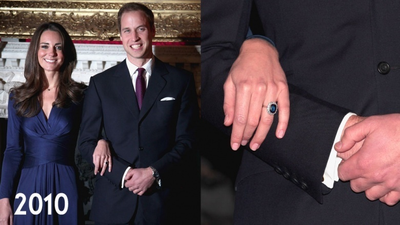 kate middleton and william engagement