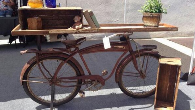 The Hostu0027s Favorite Flip Involved An Antique Bicycle