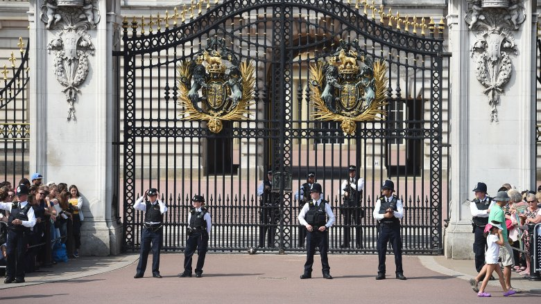 Royal protection officers