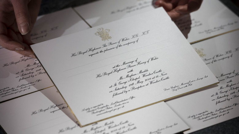 This is how much the royal wedding will cost for How much do wedding invitations cost