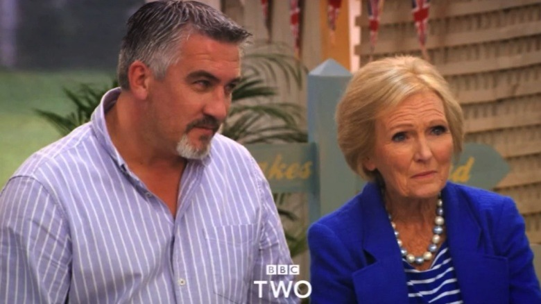 Great British Bake Off Paul Hollywood Mary Berry