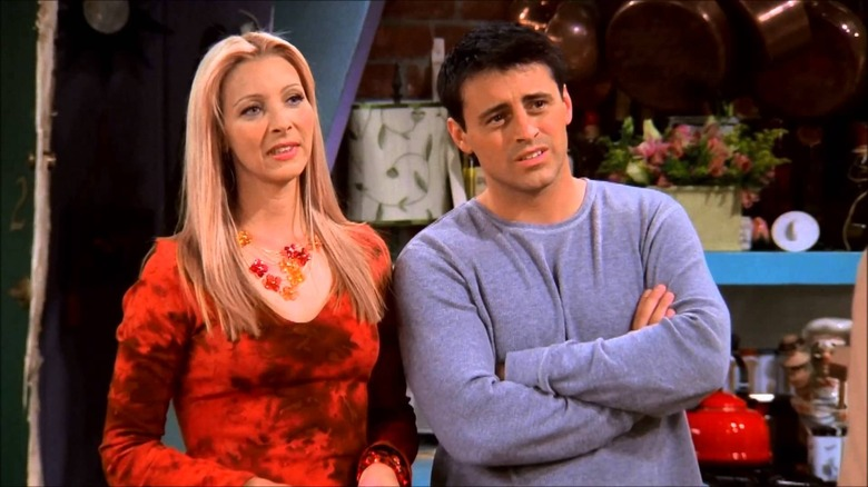 Friends Phoebe and Joey