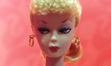 The first Barbie doll, created in 1959 i