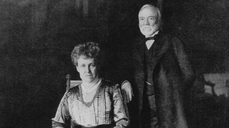Andrew and Louise Carnegie