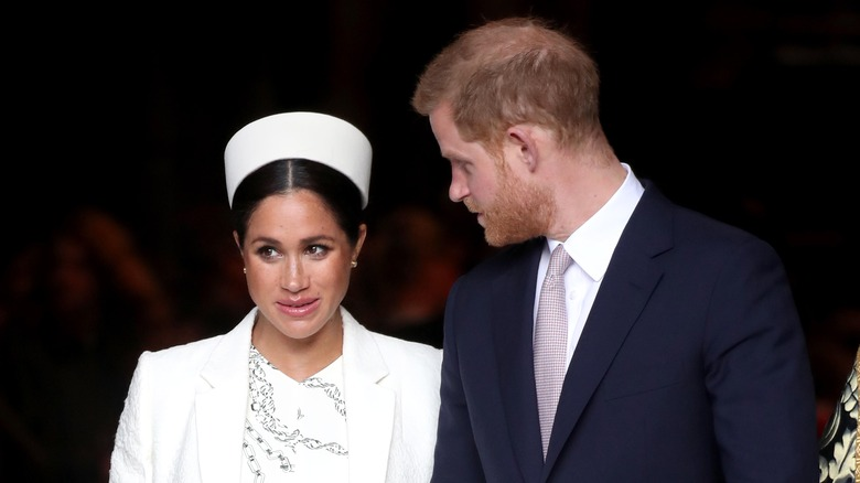 royals Meghan Markle and Prince Harry