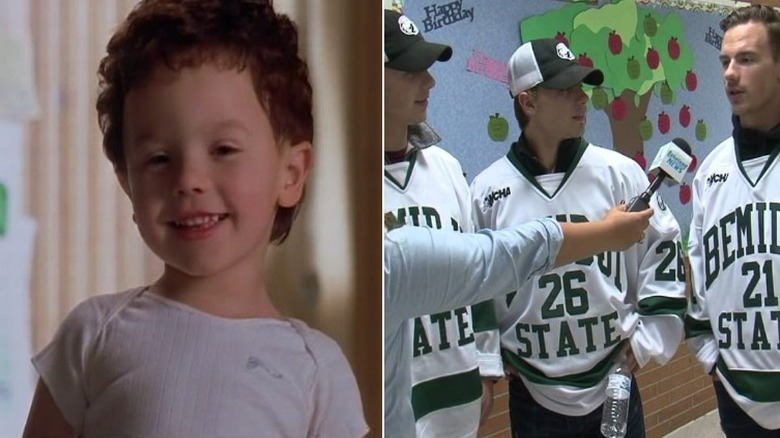 Sylvester in Baby Geniuses, played by the Fitzgerald triplets