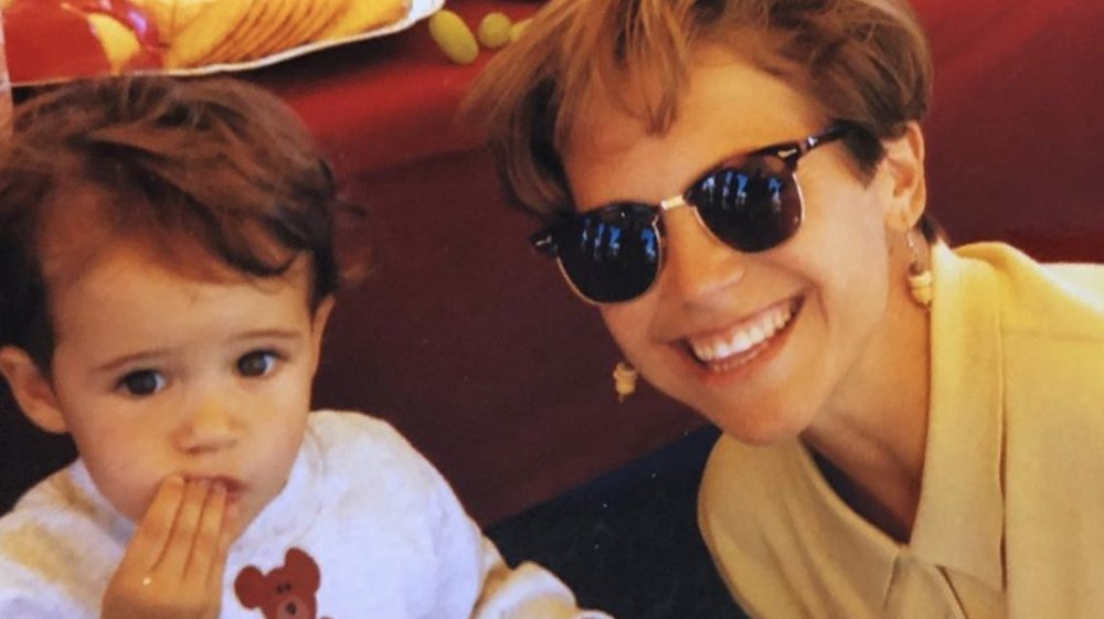 Katie Couric with her daughter Ellie Monahan