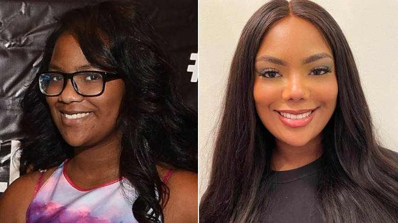 Riley Burruss from Real Housewives, then and now