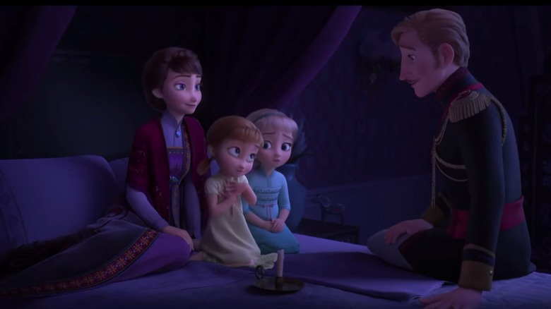 frozen small details you missed in the disney sequel