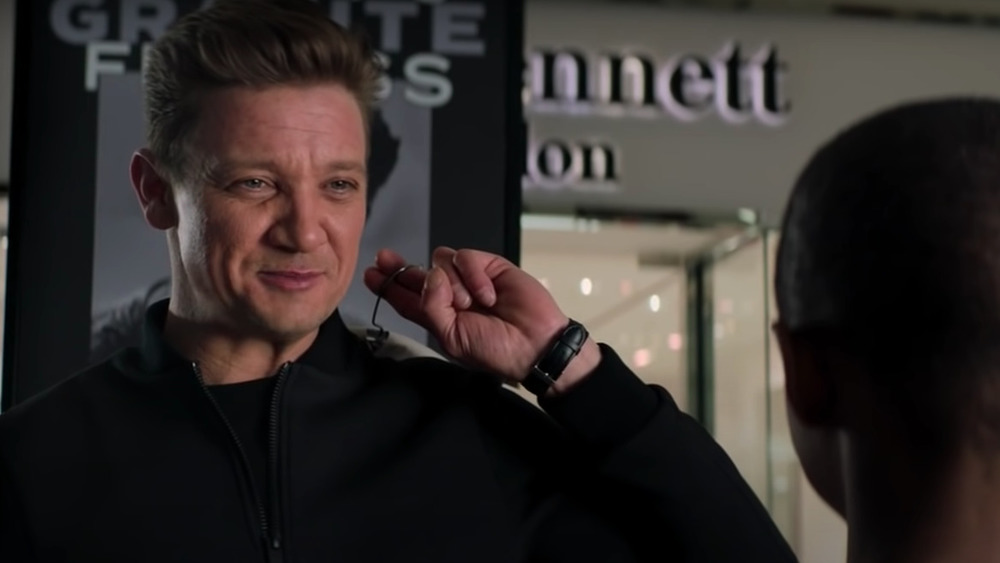 Jeremy Renner acting