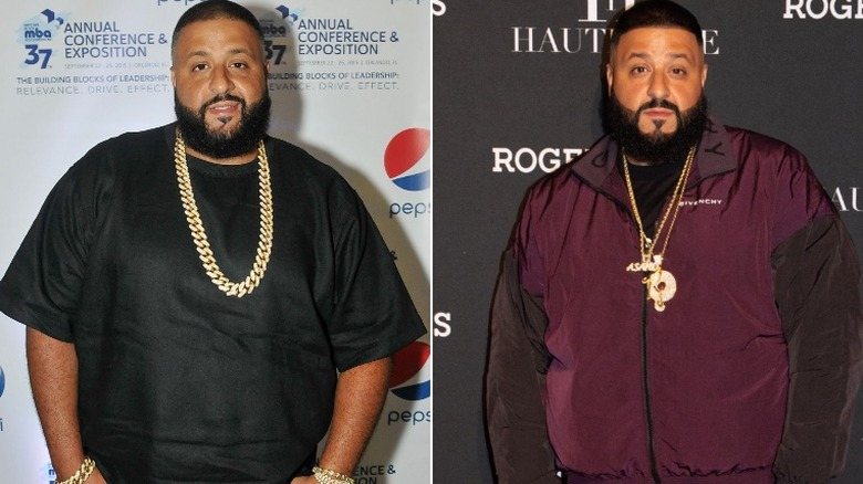 DJ Khaled before and after weight loss