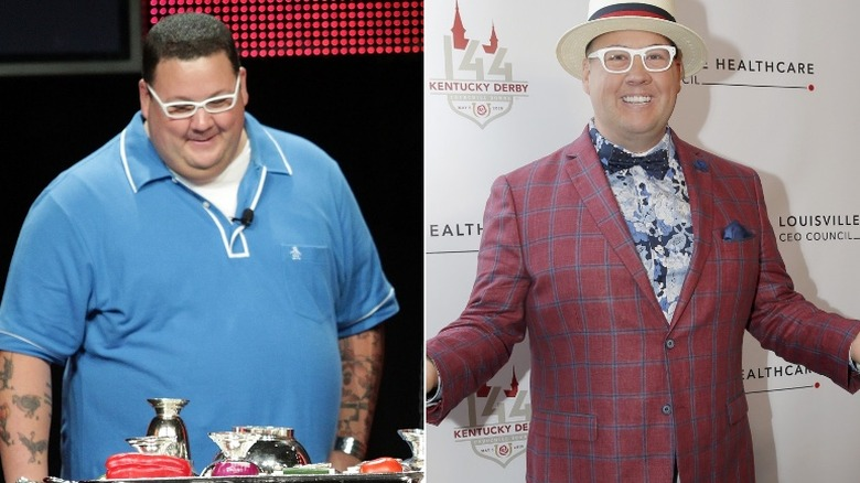 Graham Elliot before and after weight loss