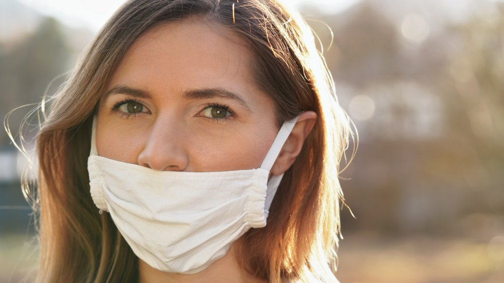 The One Way You Should Never Wear Your Face Mask