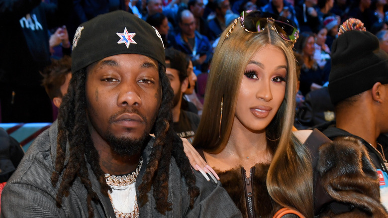 Grammys 2018: Cardi B sexy dress overshadowed by rappers