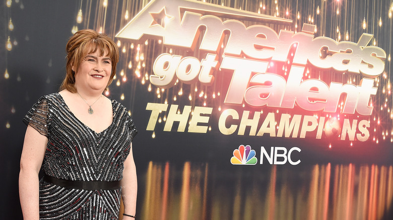 Susan Boyle at America's Got Talent: The Champions in 2018