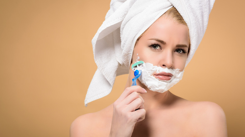 The real reason women should shave their faces