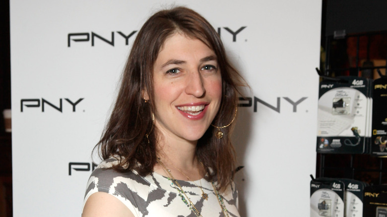 Mayim Bialik at an event in 2010