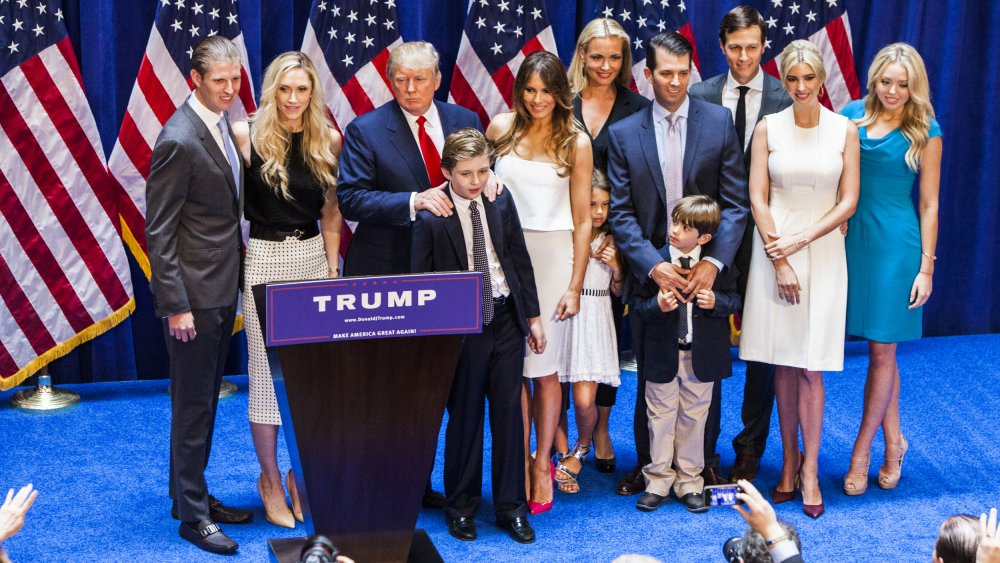 The Truth About Barron Trump's Relationship With His Siblings