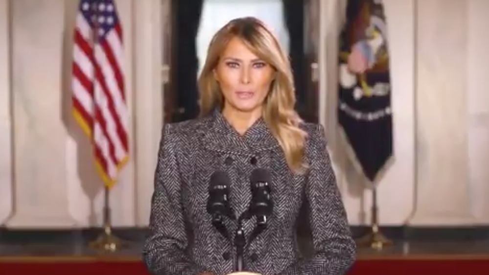 The Truth About Melania Trump's Goodbye Message