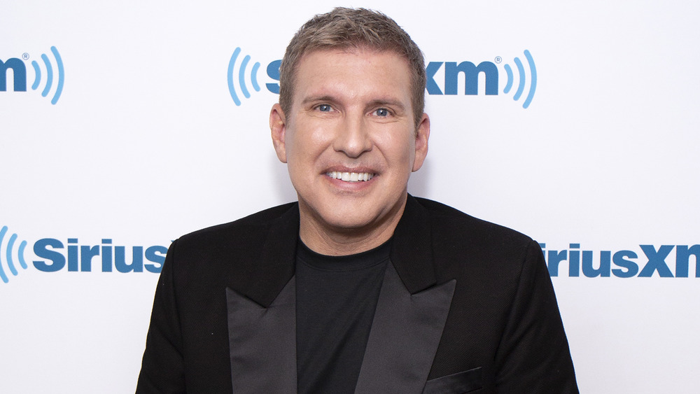 Todd Chrisley at a Sirius XM event