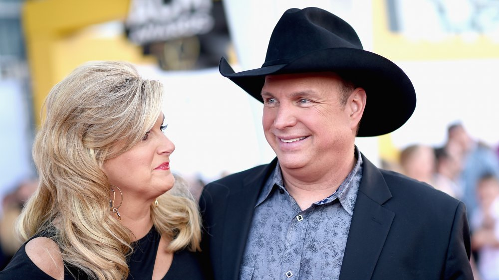 Trisha Yearwood and Garth Brooks at an event in 2015