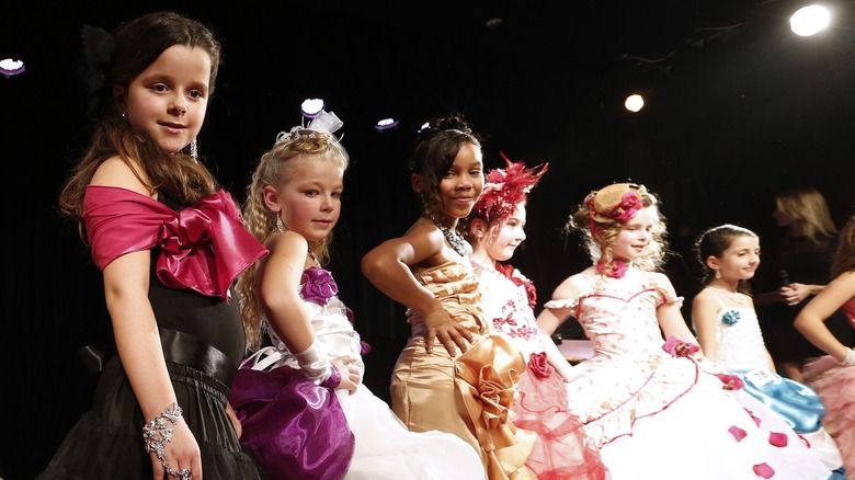 childhood beauty pageant
