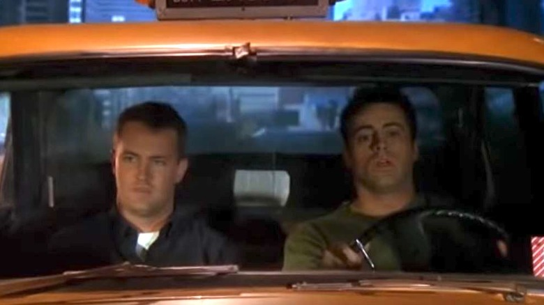 Joey and Chandler in Friends