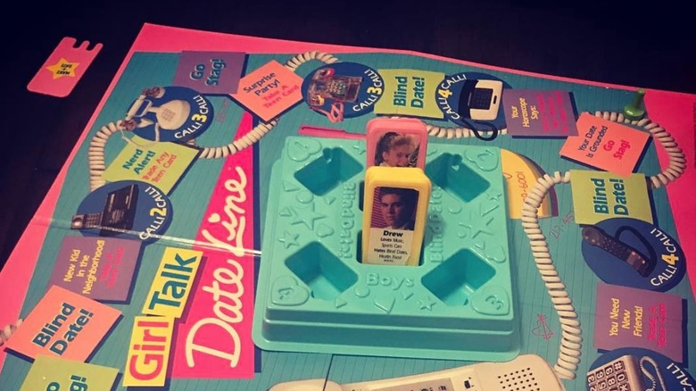 Dating board game for girls