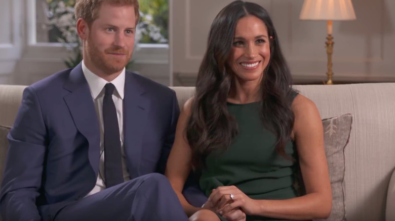 Meghan Markle Prince Harry Engagement Interview