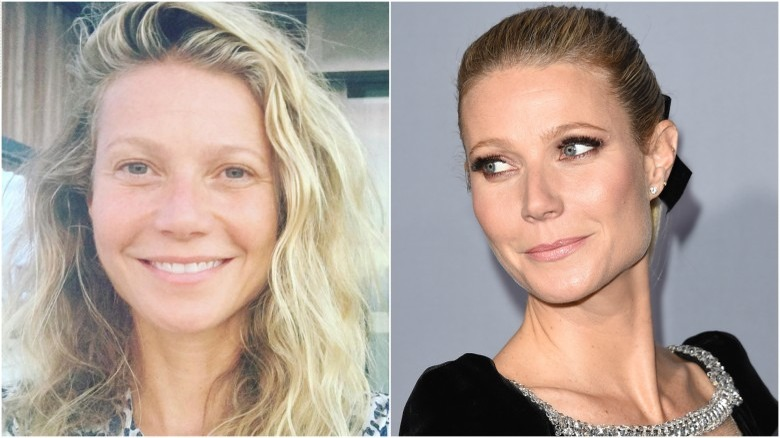 Unrecognizable Photos Of Celebs Without Makeup - Celebrity-without-makeup