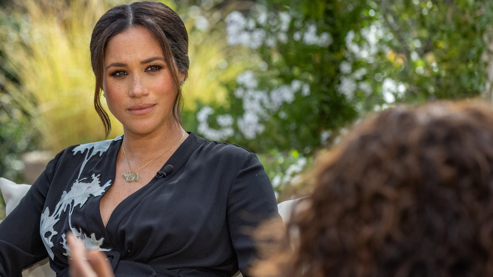 What A Body Language Expert Noticed In Meghan Markle's Oprah Interview