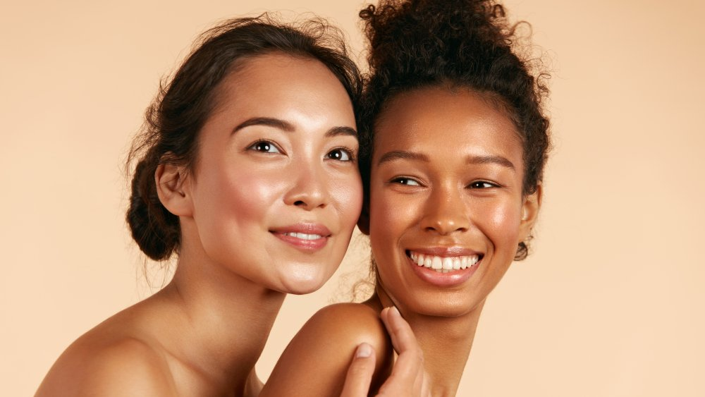 What does it mean if you have white spots on your skin?