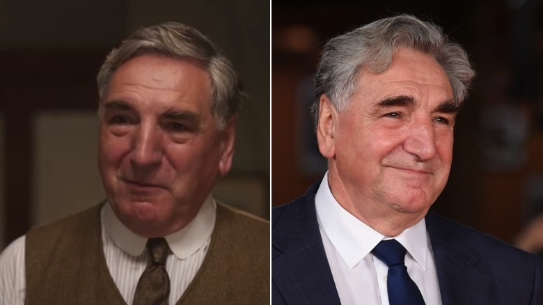 Jim Carter, split image