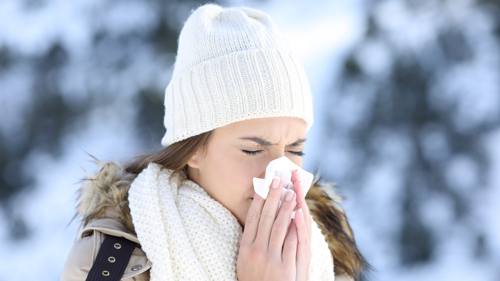 What It Really Means When Your Nose Is Cold