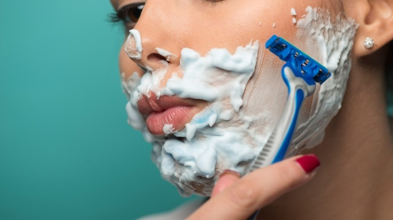 What really happens when you shave your face