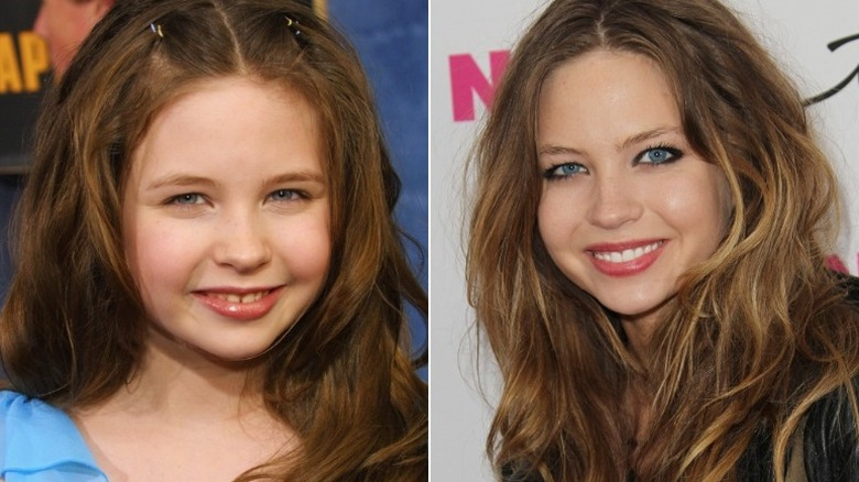 Daveigh Chase young old