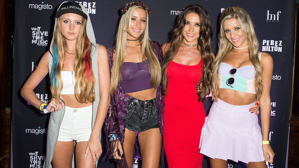 The Rosso Sisters on the red carpet