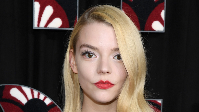 Anya Taylor-Joy poses on the red carpet