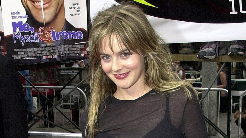 Alicia Silverstone at the premier of Me, Myself, & Irene in 2000