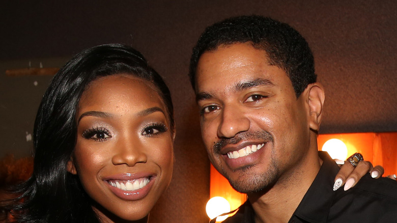 Brandy and her ex