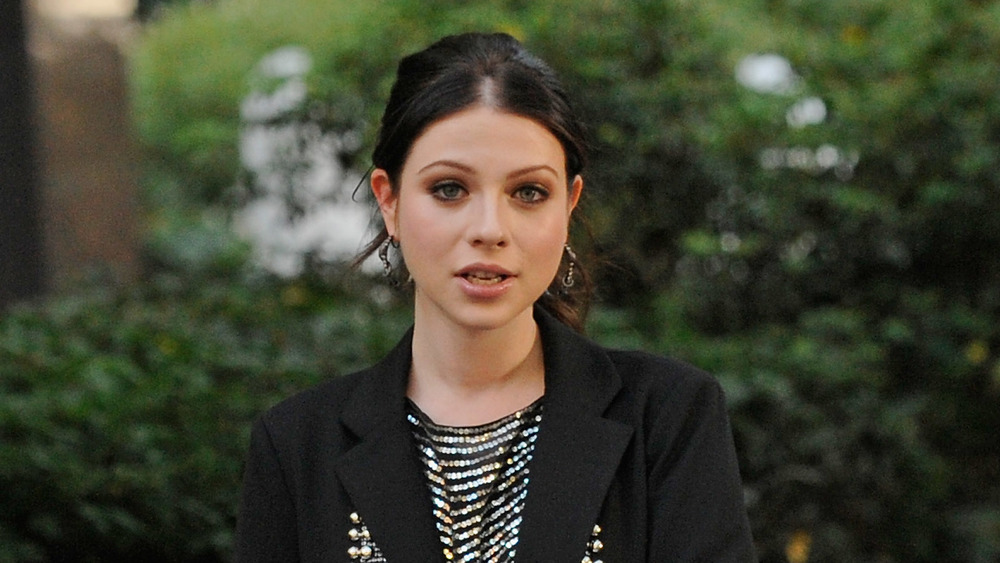 Michelle Trachtenberg filming Gossip Girl in NYC